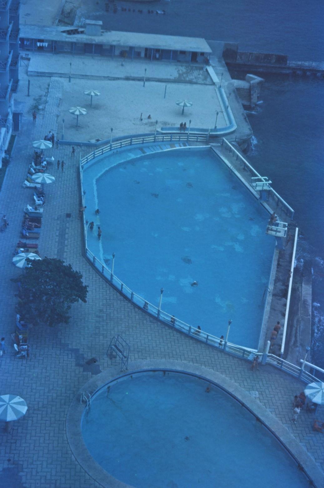 1968-1970. Бассейн гостиницы «Сьерра-Маэстра», фото 1