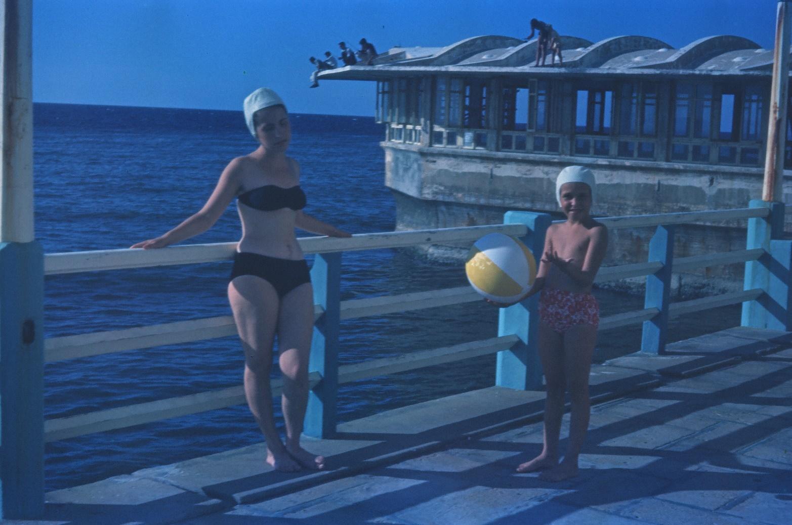 1968-1970. Выход к морю около гостиницы «Сьерра-Маэстра»