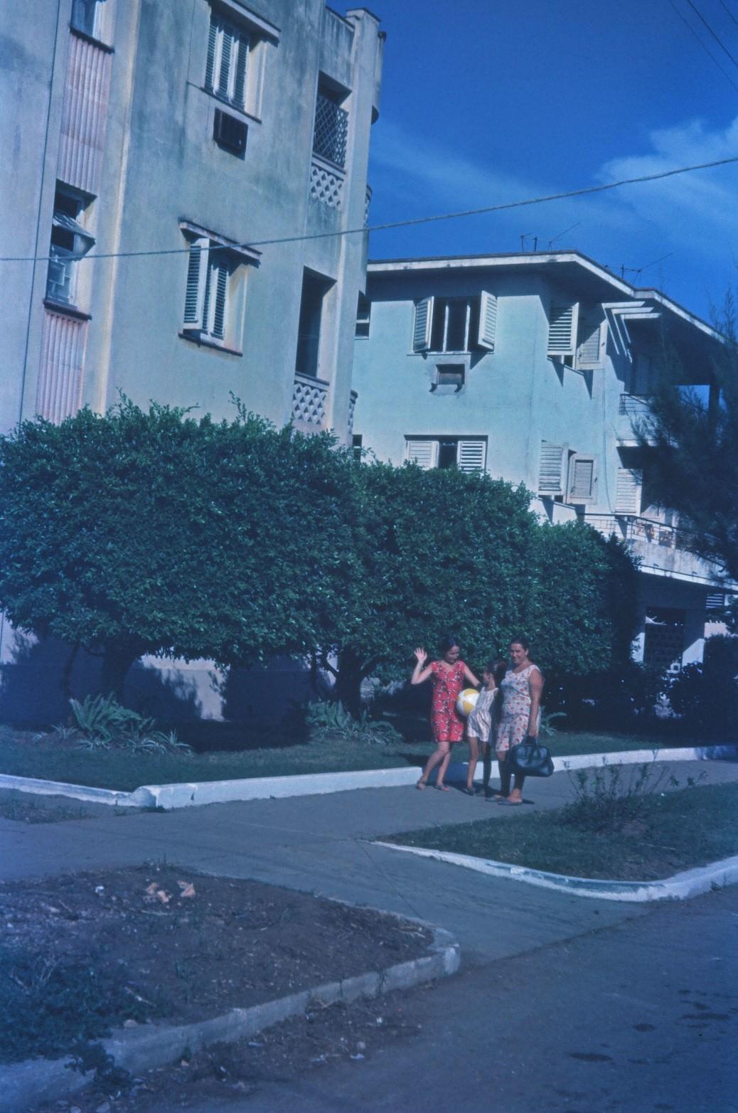 1968-1970. Дом Елены Мендес в районе гостиницы «Сьерра-Маэстра»
