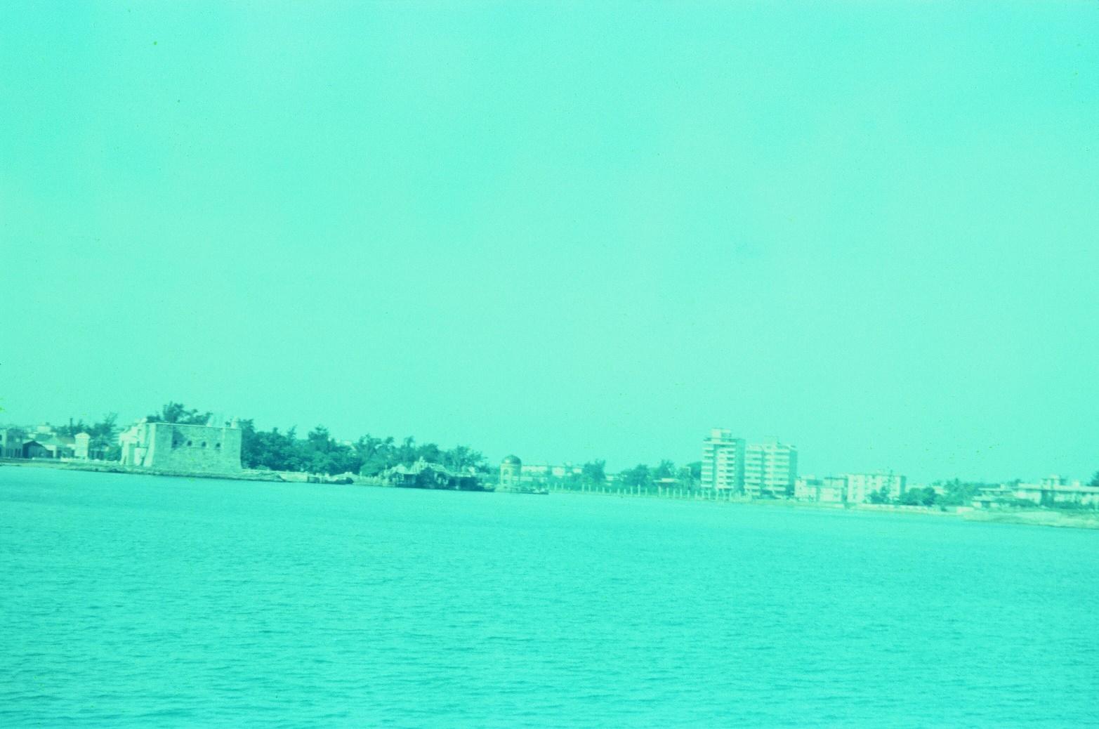 1968-1970. Вид с океана. Река Альмендарес, крепость Эль Торреон, фото 2