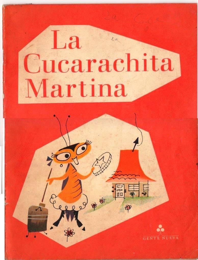 Детская книжка «Кукарачита Мартина», обложка