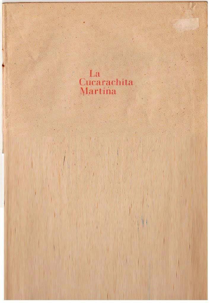 Детская книжка «Кукарачита Мартина», страница 1