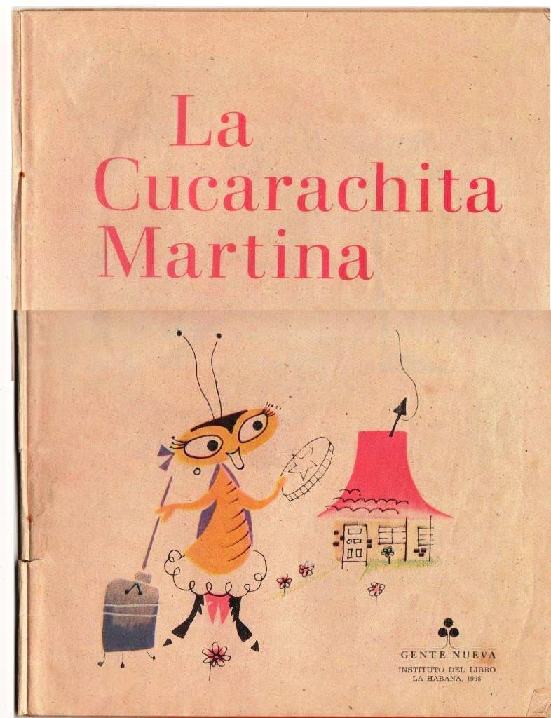 Детская книжка «Кукарачита Мартина», страница 2