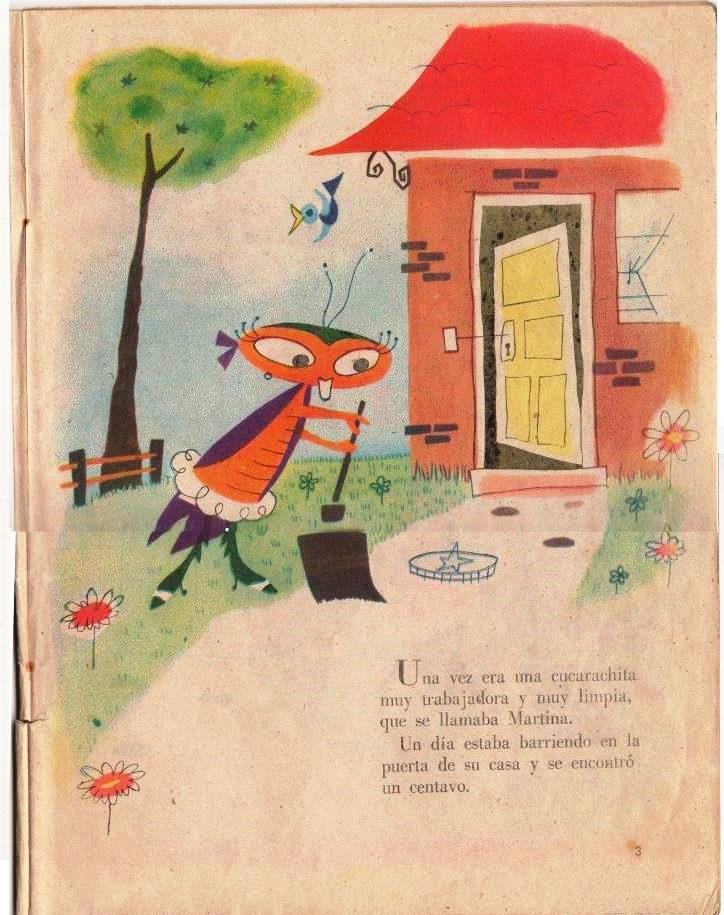 Детская книжка «Кукарачита Мартина», страница 3