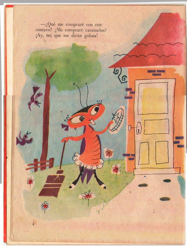 Детская книжка «Кукарачита Мартина», страница 4