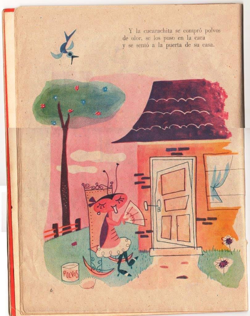 Детская книжка «Кукарачита Мартина», страница 6