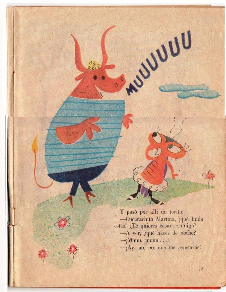 Детская книжка «Кукарачита Мартина», страница 7