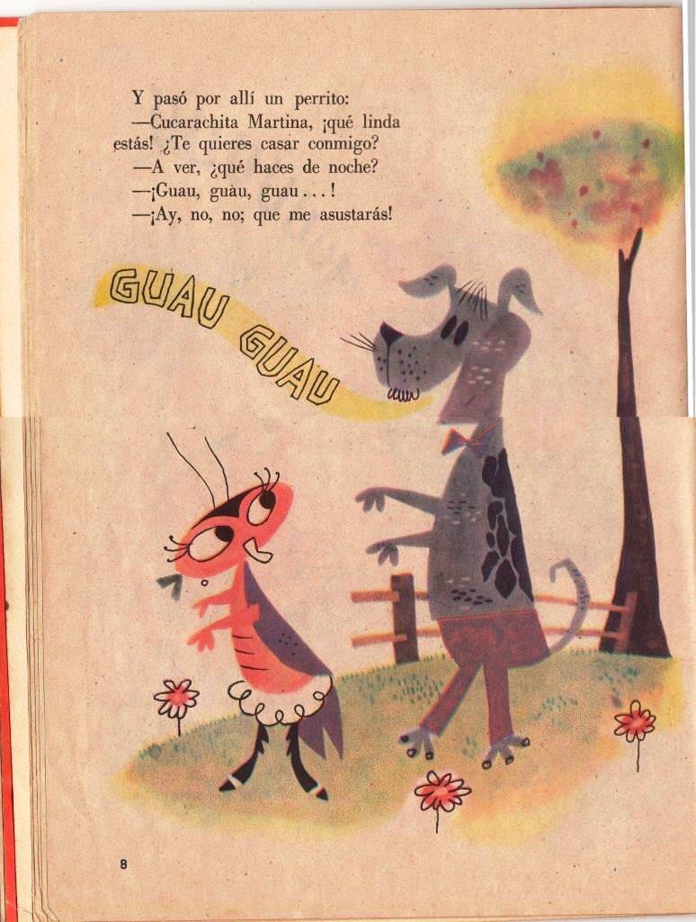 Детская книжка «Кукарачита Мартина», страница 8