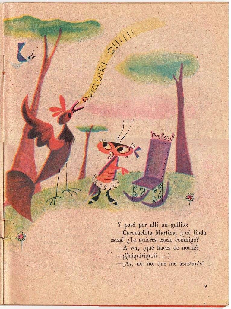 Детская книжка «Кукарачита Мартина», страница 9