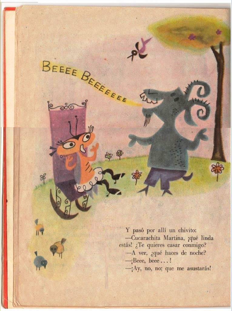 Детская книжка «Кукарачита Мартина», страница 10