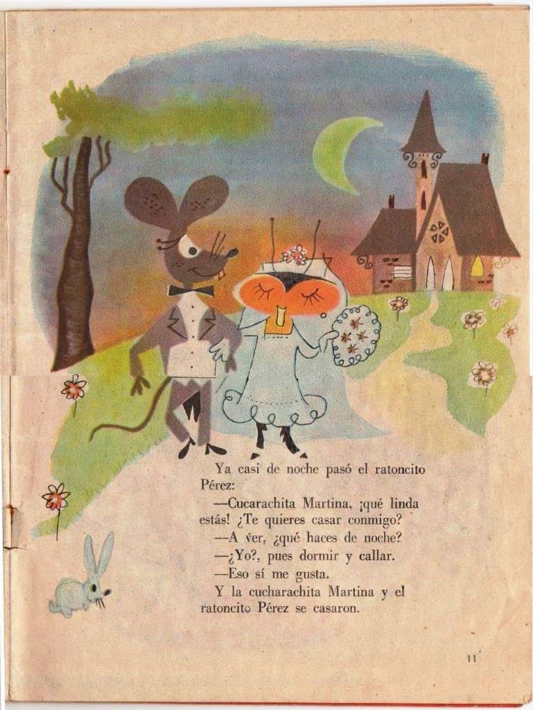 Детская книжка «Кукарачита Мартина», страница 11