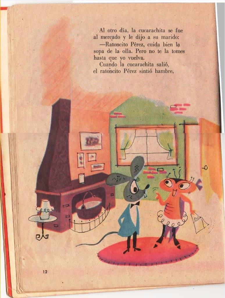 Детская книжка «Кукарачита Мартина», страница 12