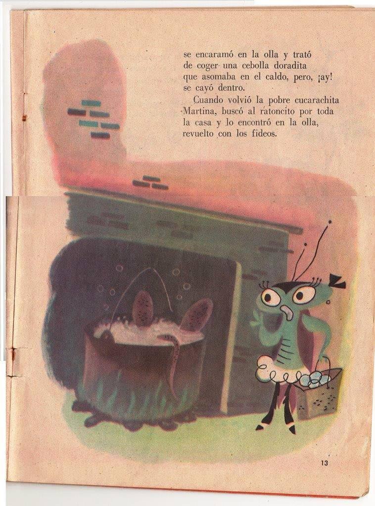 Детская книжка «Кукарачита Мартина», страница 13