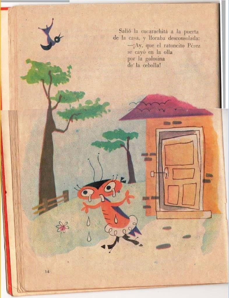 Детская книжка «Кукарачита Мартина», страница 14