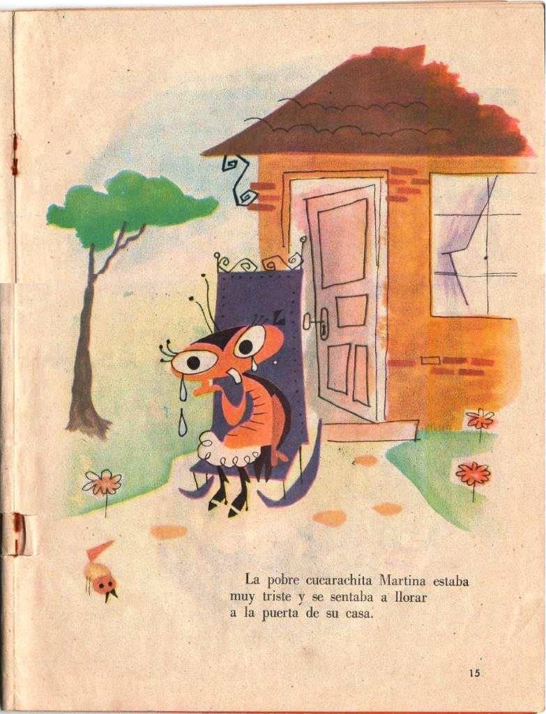 Детская книжка «Кукарачита Мартина», страница 15