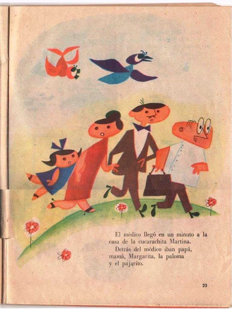 Детская книжка «Кукарачита Мартина», страница 23