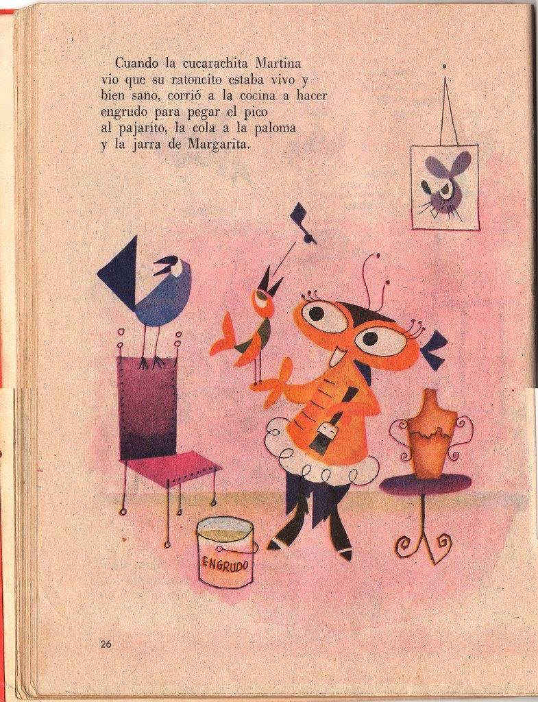 Детская книжка «Кукарачита Мартина», страница 26