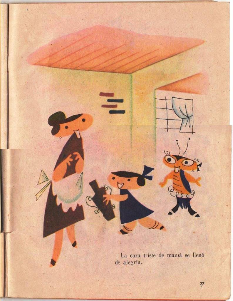 Детская книжка «Кукарачита Мартина», страница 27