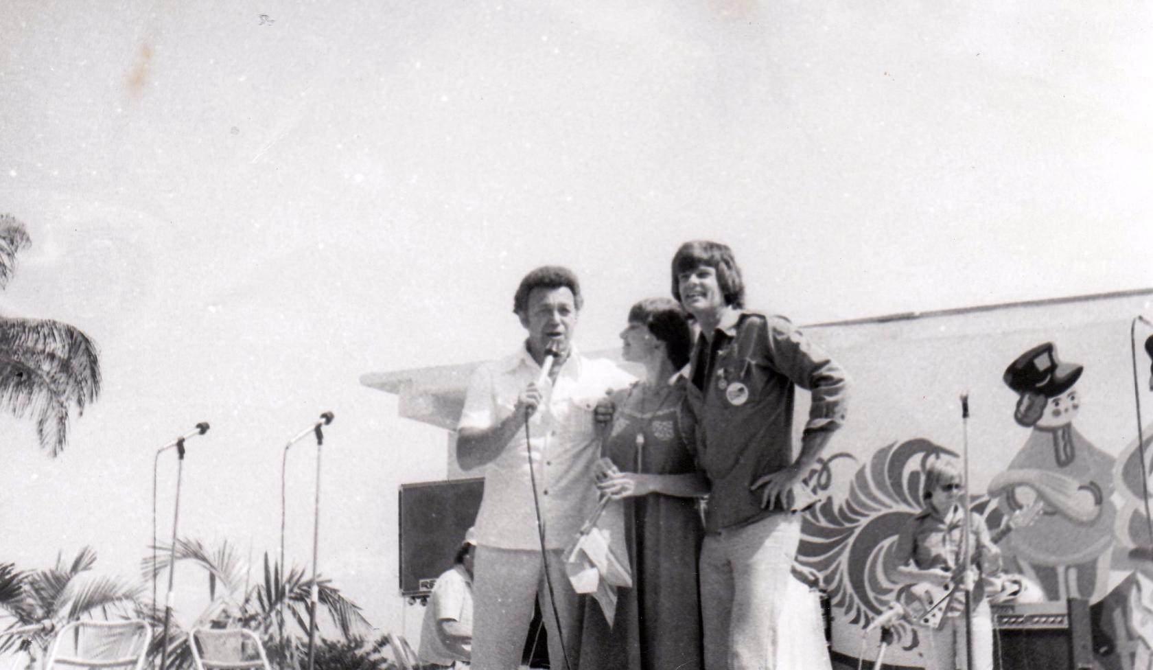 1978. Иосиф Кобзон, Ирина Понаровская и Дин Рид.