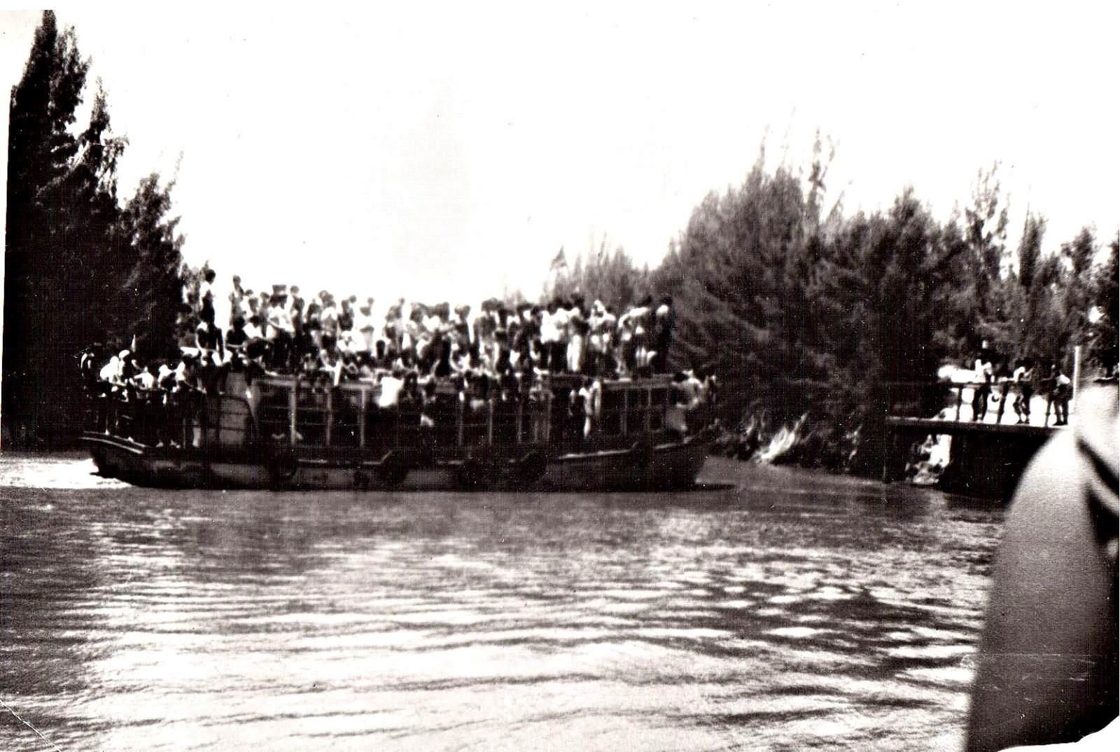 1987-1988. Остров Кайо Моа. Причал. 3 фото