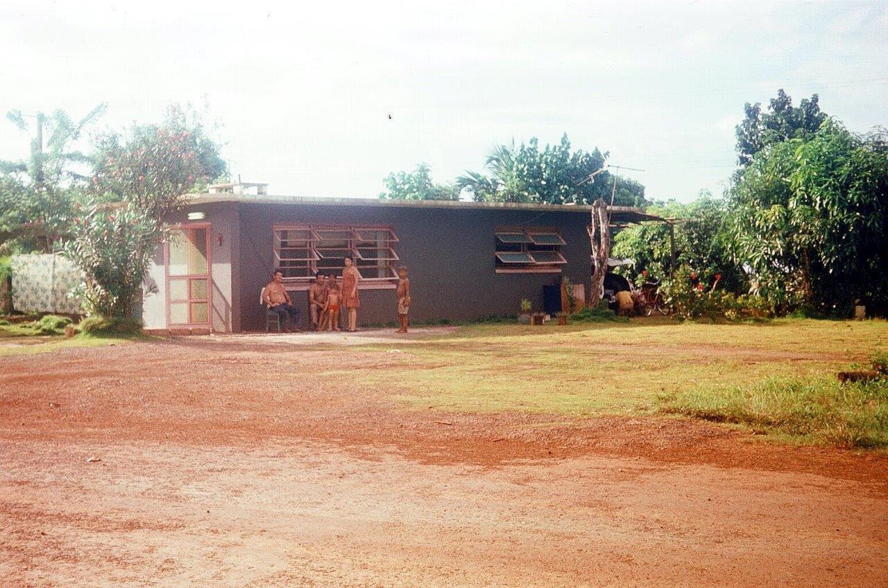 1983, жилище кубинцев