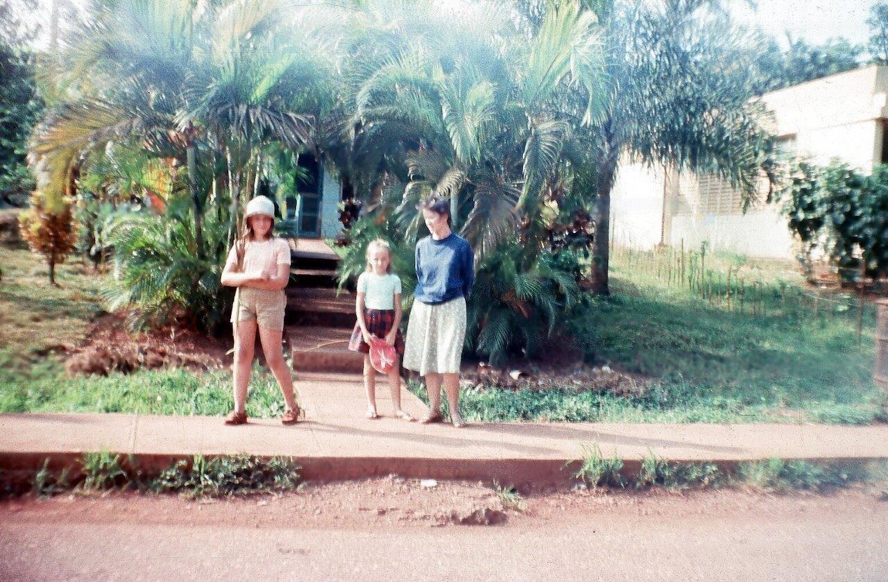 1983-1986, Моа, кубинский домик, где-то за 8 роло