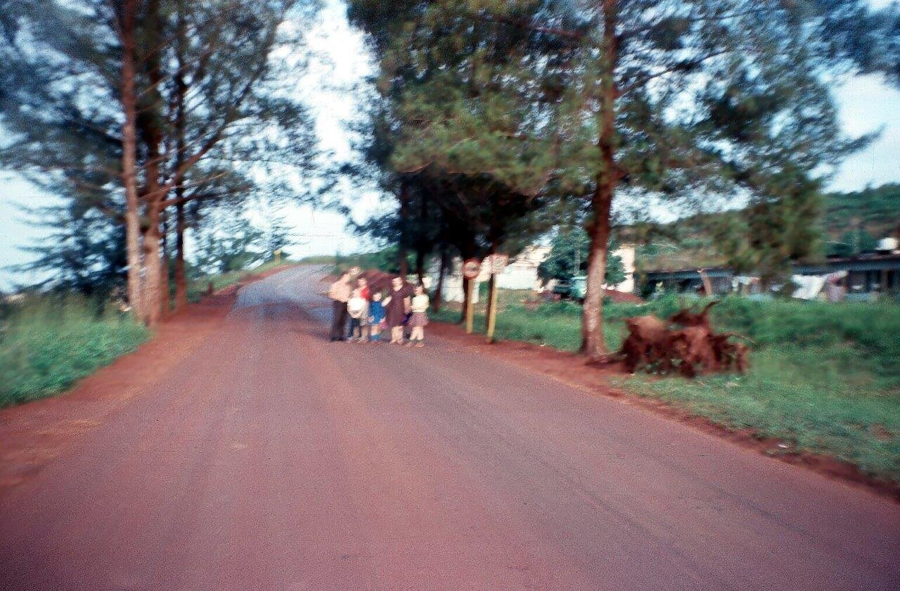1983, на дороге