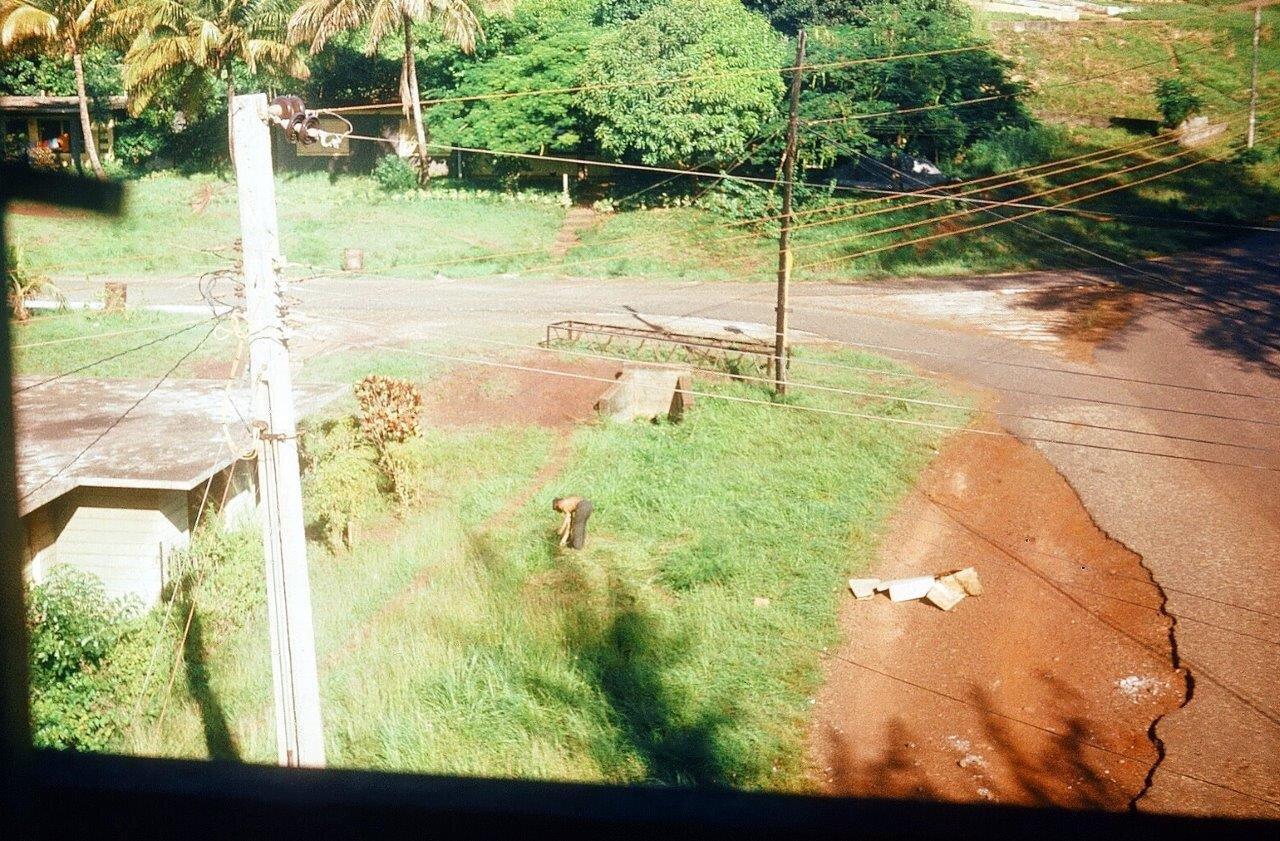1983-1986, панорама из окна