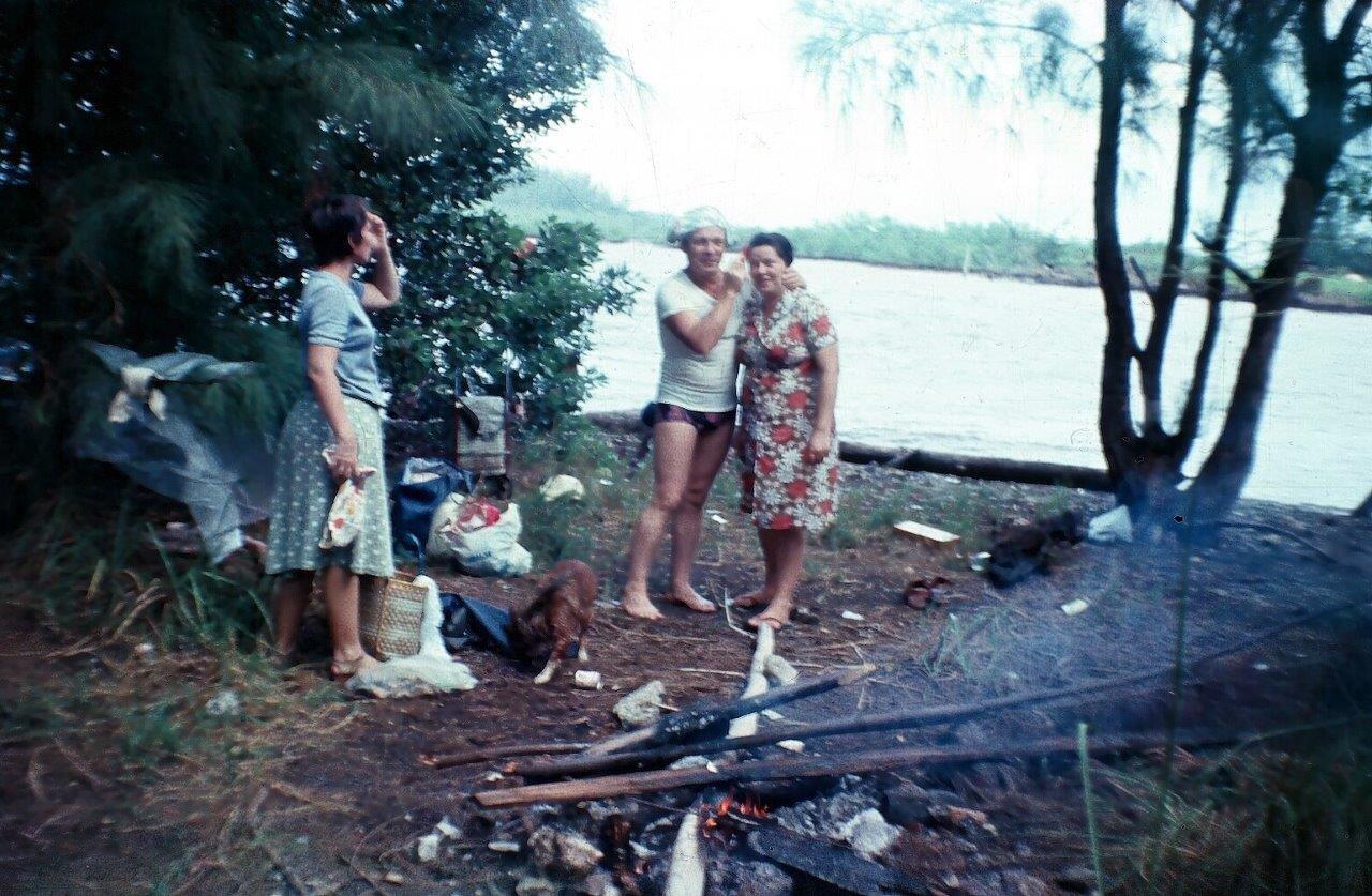 1983-1986, на острове Кайо Моа (Барке), фото 1