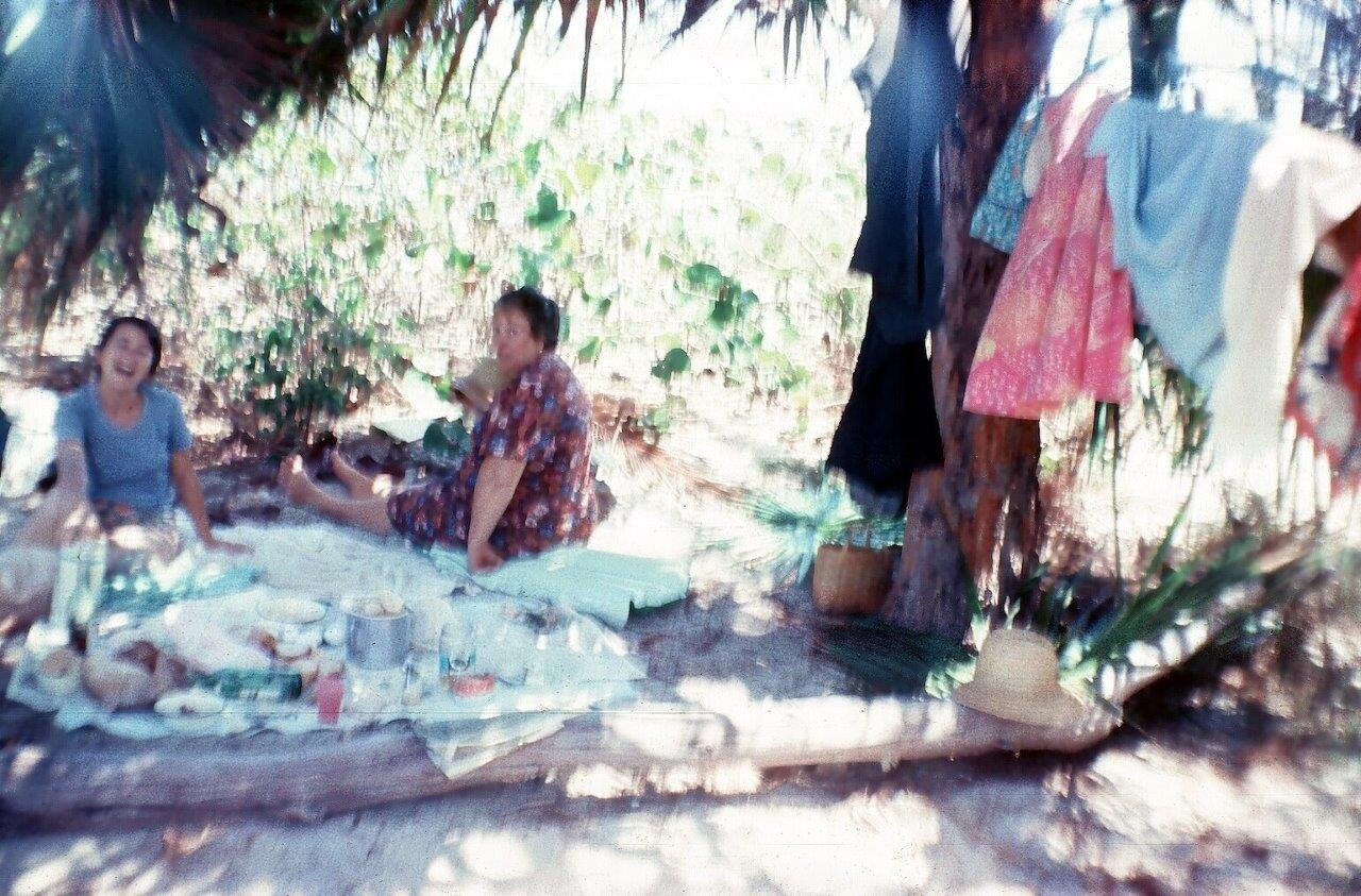 1983-1986, на острове Кайо Моа (Барке), фото 2