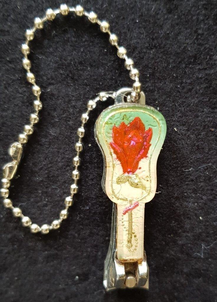 048B. Брелок для стрижки ногтей, 1983-1986, фото 2.