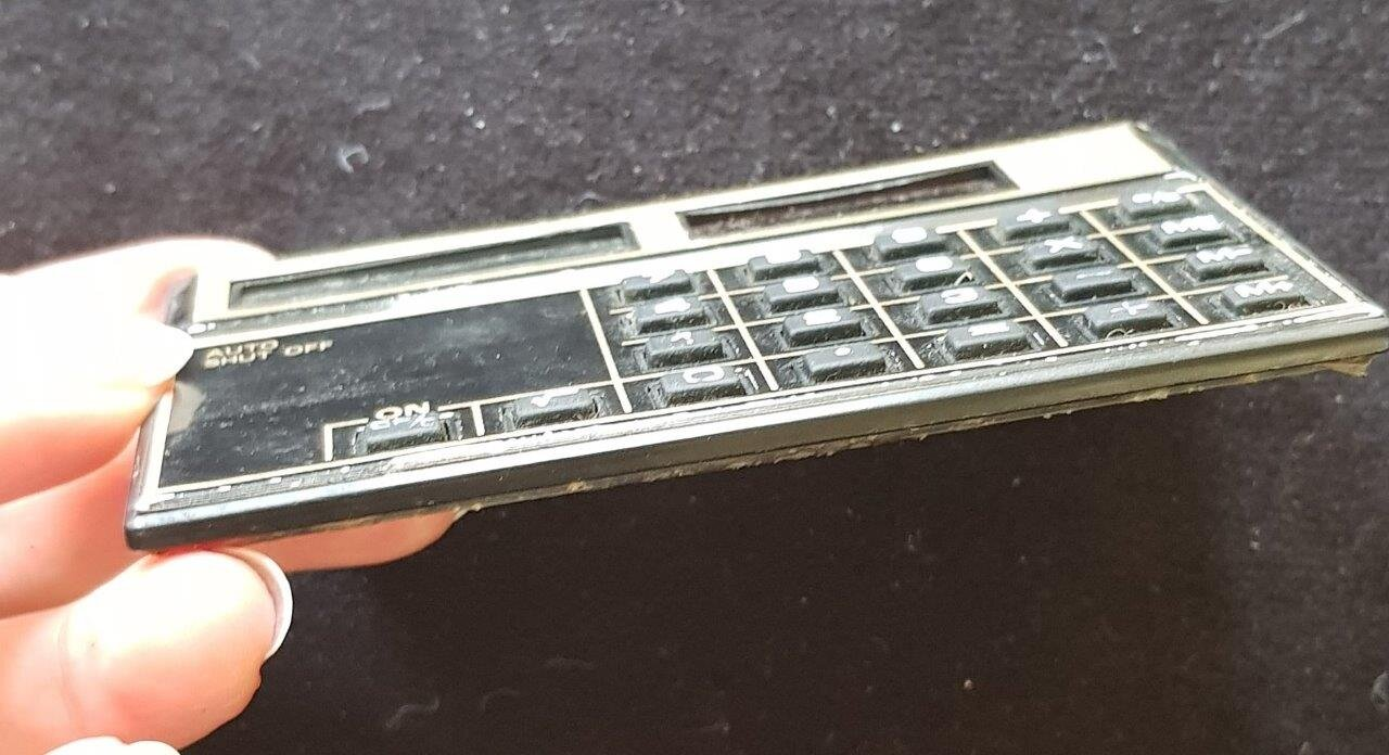 Бумажник с калькулятором, 1983-1986, фото 2