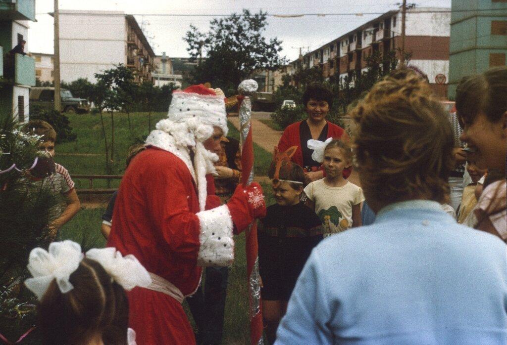 77. Празднование Нового, 1988, года в Моа, фото 2