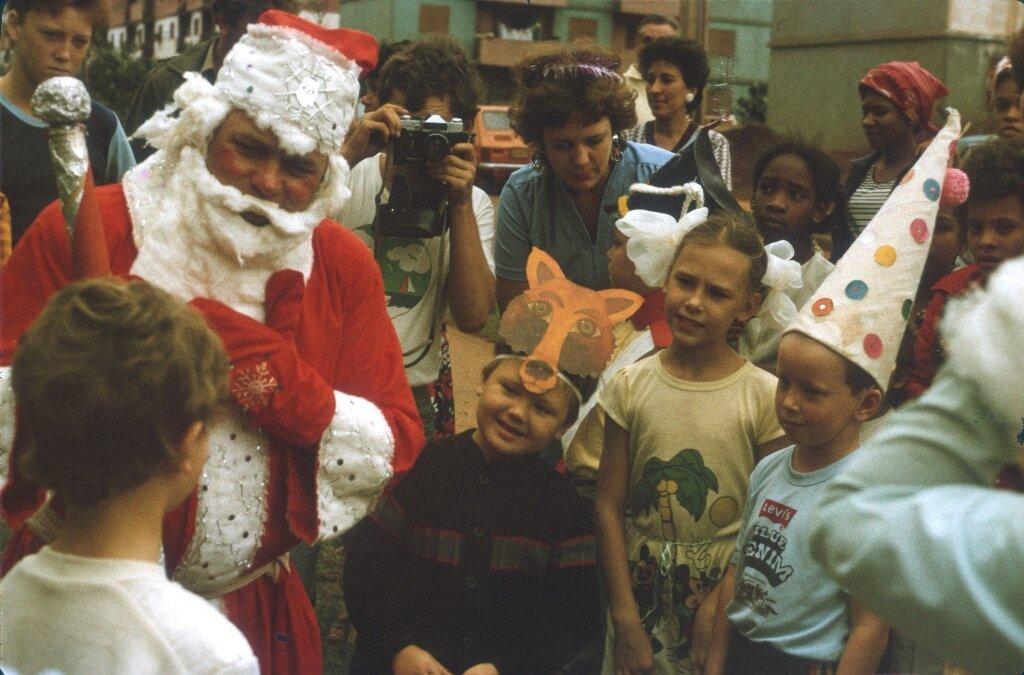 78. Празднование Нового, 1988, года в Моа, фото 3