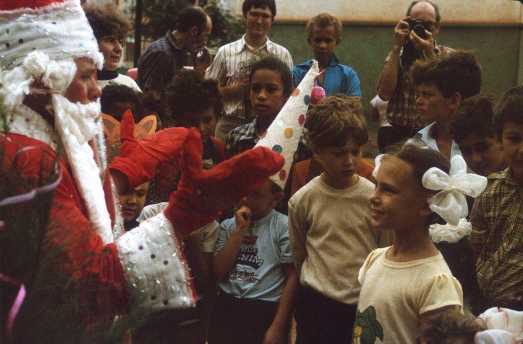 79. Празднование Нового, 1988, года в Моа, фото 4