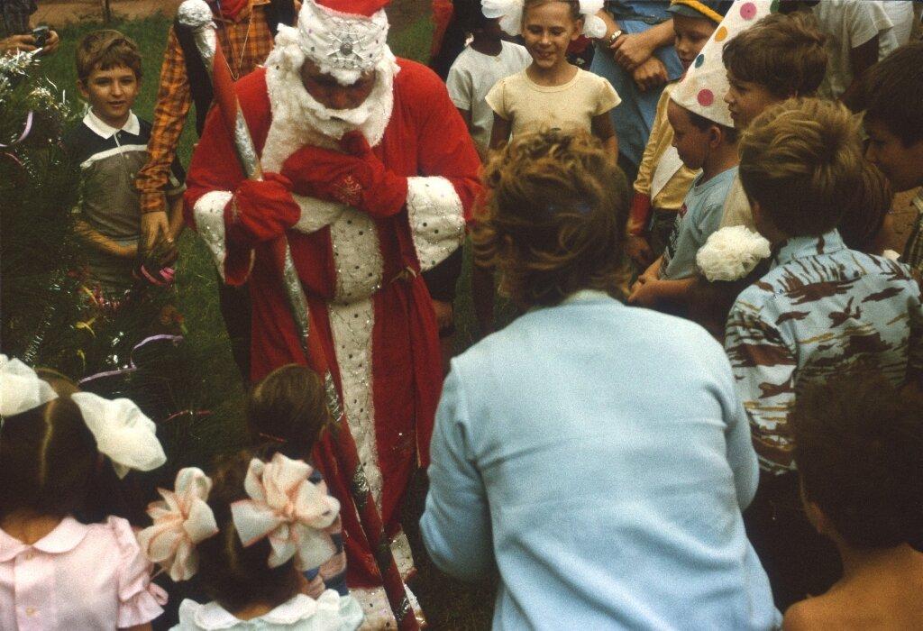 80. Празднование Нового, 1988, года в Моа, фото 5
