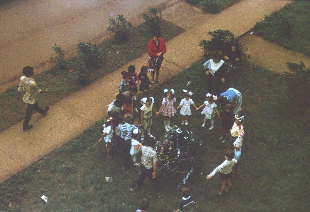 82. Празднование Нового, 1988, года в Моа, фото 7