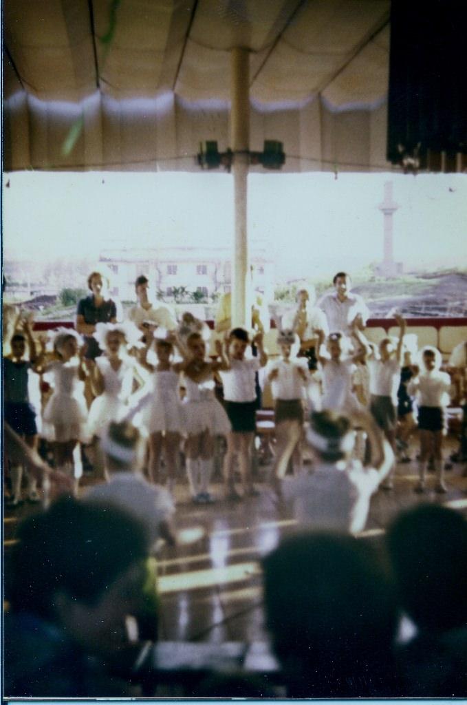 58. 1982, декабрь.  Утренник в Интерклубе, Лас-Колорадас