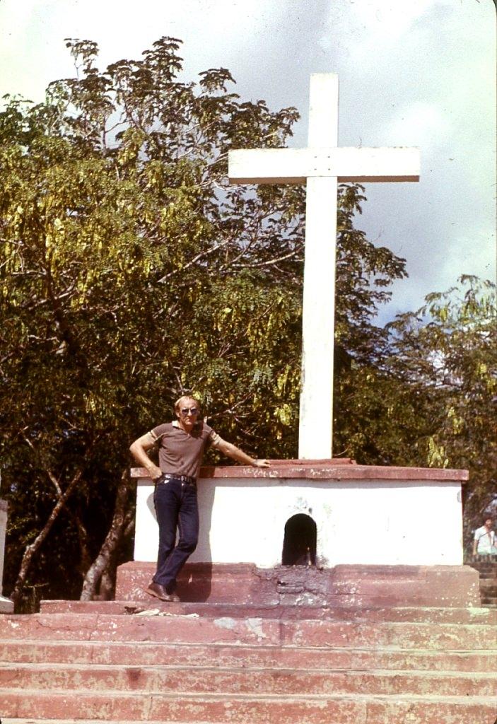 Ольгин. 1983-1985. На вершине лестницы.