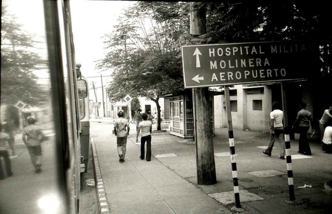 Ольгин. 1983-1985. Улица.