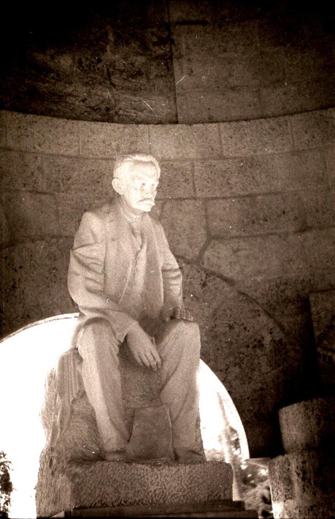 Ольгин. 1983-1985. Кладбище. 2