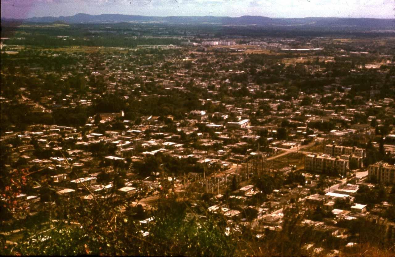 Ольгин. 1983-1985. Панорамы города с обзорной площадки. 1