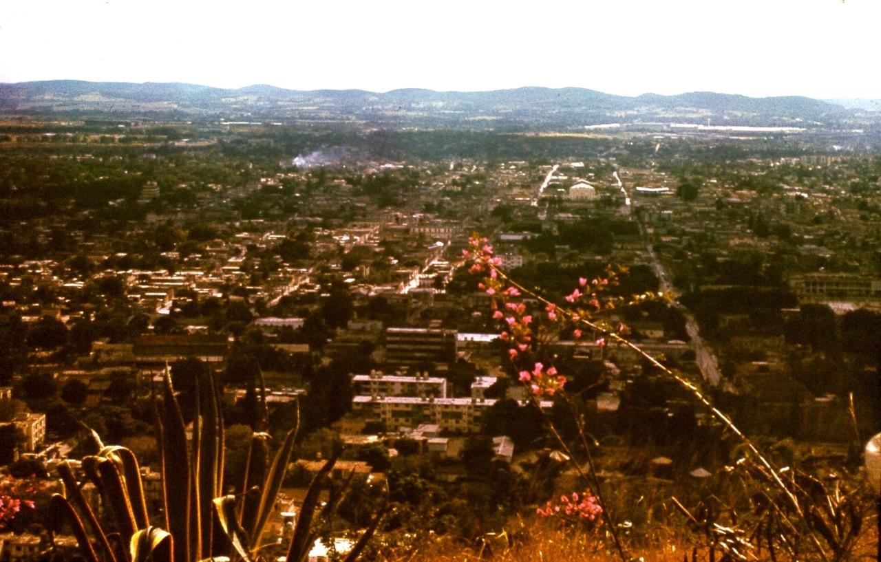 Ольгин. 1983-1985. Панорамы города с обзорной площадки La Loma De La Cruz.