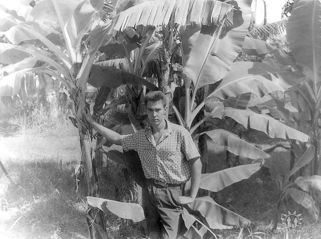 Мини-банановая роща в парке «Орбиты» с «хозяином»