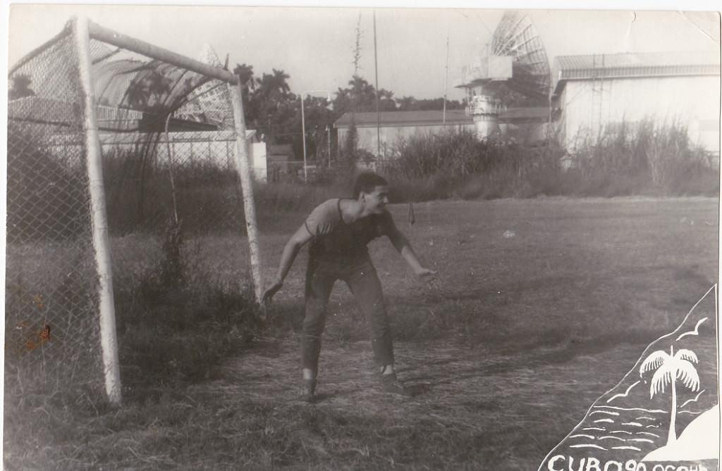 1990. Футбольное поле «Орбиты».