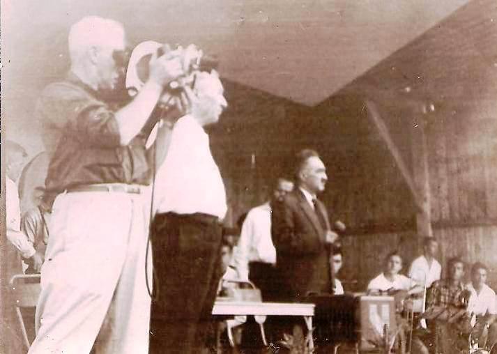 1962-11-07. Слева направо: Р. Кармен, И.А. Плиев, А.И. Микоян