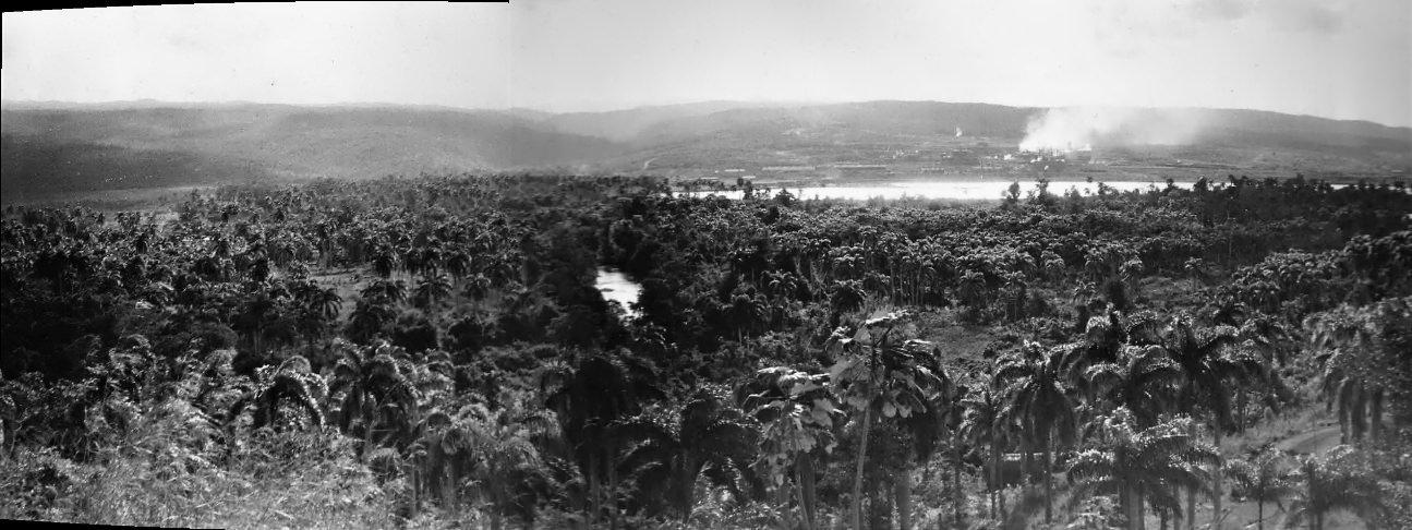 1964-1966. Панорама Моа. Фото 1.
