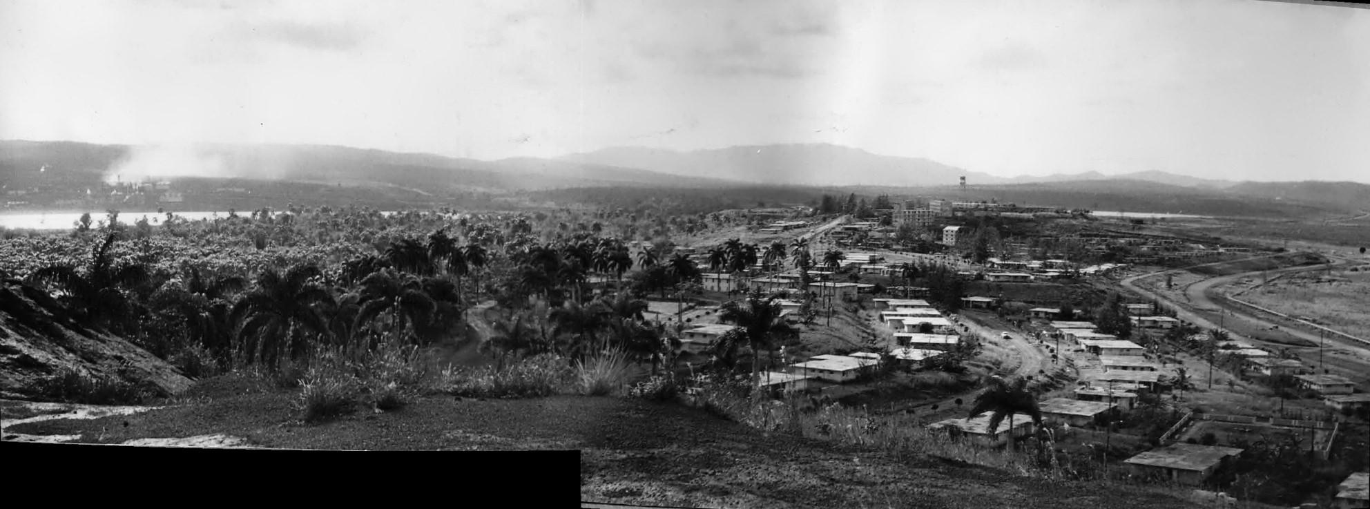 1964-1966. Панорама Моа. Фото 2.