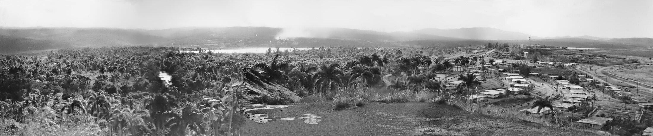 1964-1966. Панорама Моа. Фото 3.