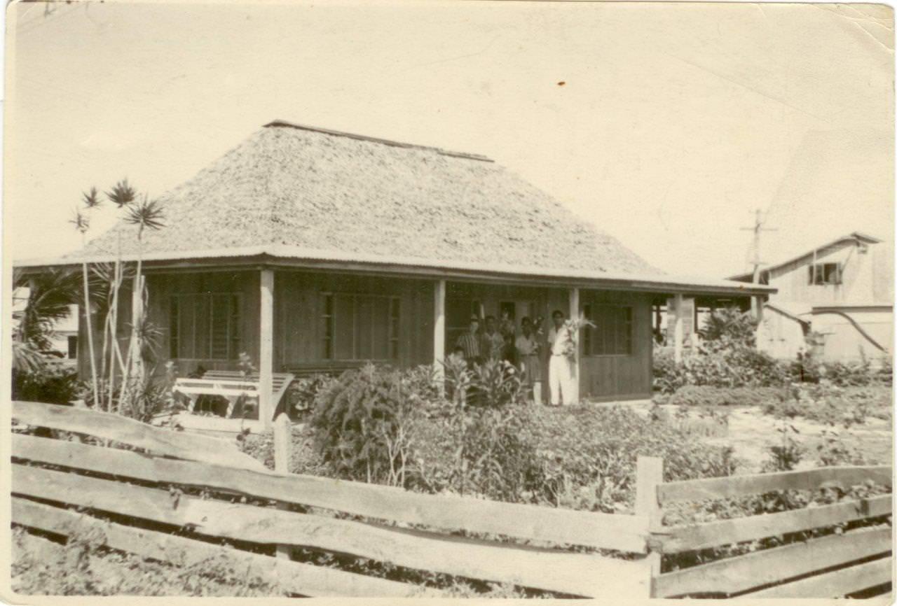 38. Гостевой дом в кубинском хозяйстве. Республика Куба. 1961 г.